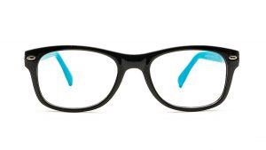 Matrix Black Blue Acetate Glasses 820